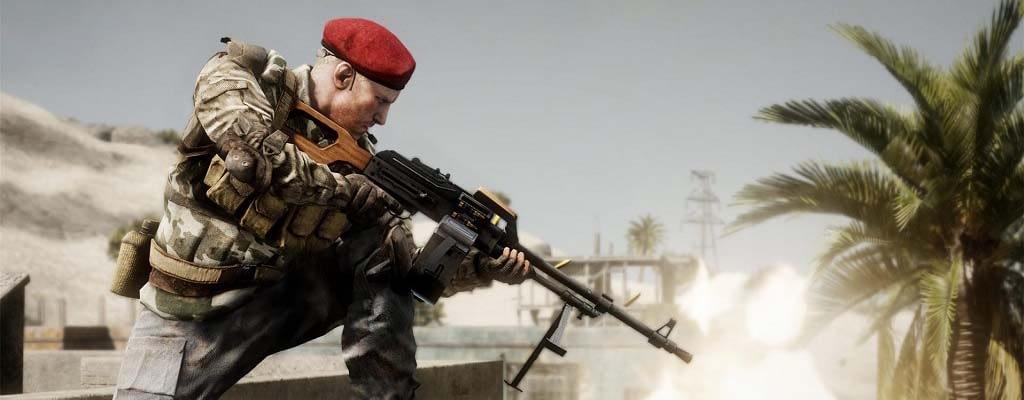 Battlefield Bad Company 2 Slider