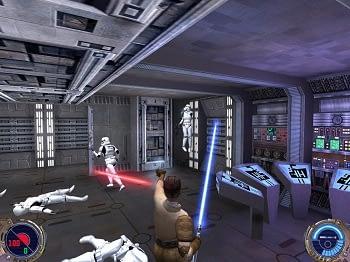Star Wars Jedi Knight 2 Server im Vergleich.