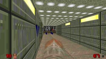 Odamex Doom Server im Vergleich.
